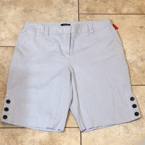 Rafaella Seersucker Shorts